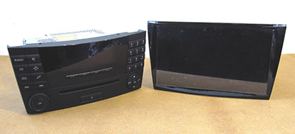 Audio20 and Car-PC for Mercedes E Class, W 211