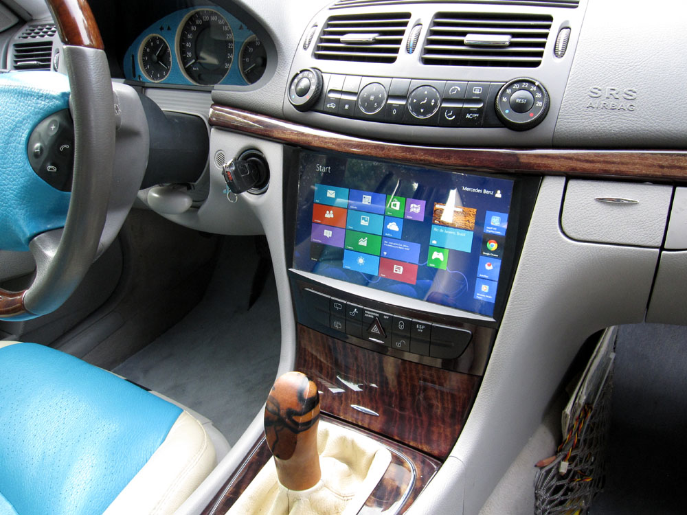 Car Pc With 10 1 Inches Toutchscreen For Mercedes E Klasse