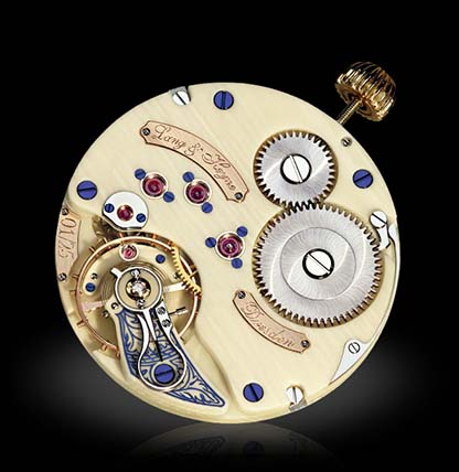 Watch from ivory, clockwork