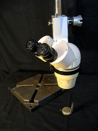 Stereomicroscope Olympus SZ II, overall view