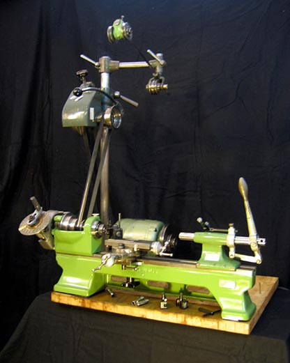The lathe Schaublin 70, overall view