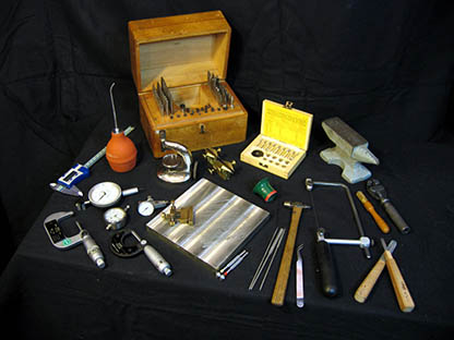 Special watchmaker's tools